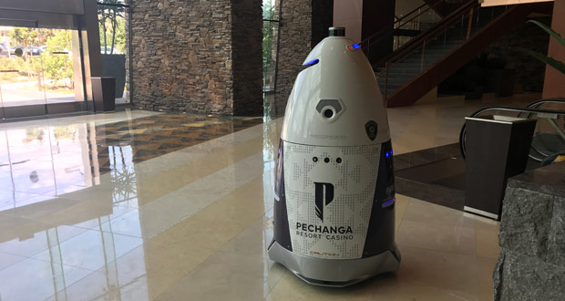 Pechanga Resort Casino Security Robots