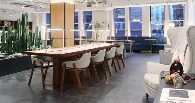 The Assemblage Coworking desks