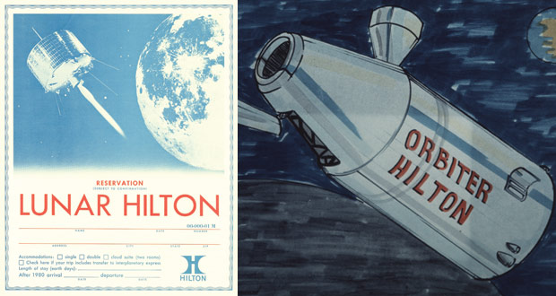 Lunar Hilton — Space Tourism