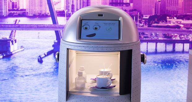 YOTELPAD Miami Techi Robot Butler