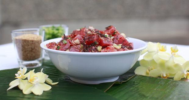 Upserve food trends - Tuna Poke
