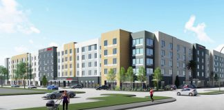 Hawthorne Courtyard and Towneplace Suites modular construction