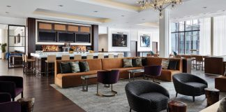 Hyatt House Jersey City Lounge