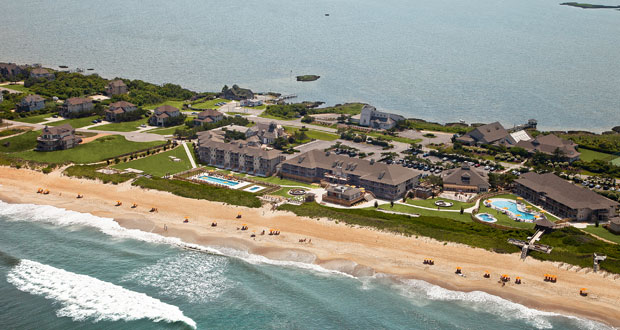 Sanderling Resort Aerial