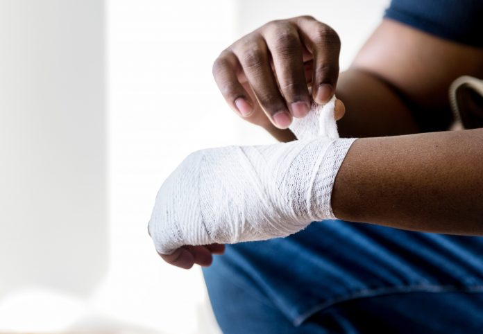 wrapping an injury - workers' compensation