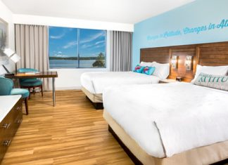 Margaritaville Lake Resort Guestroom