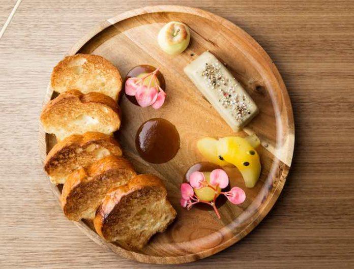 4 Saints' Foie Gras Bread and Butter