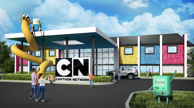 Cartoon Network and Palace Entertainment Are Opening a Hotel