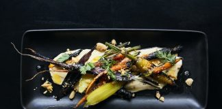Citizen Rail's Blistered Root Vegetables (Photo credit: Aubrie Pick)