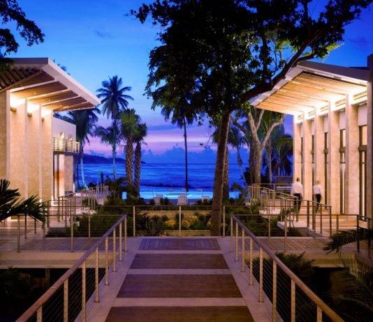 Dorado Beach's Arrival Pavilion (before Hurricane Maria)