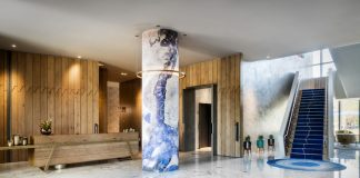The lobby at Hotel Nia (Photo credit: Hotel Nia)