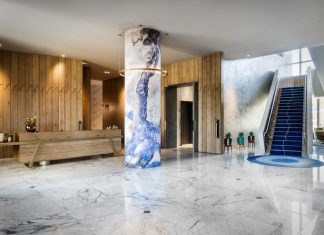 The lobby at Hotel Nia (Photo credit: Hotel Nia)