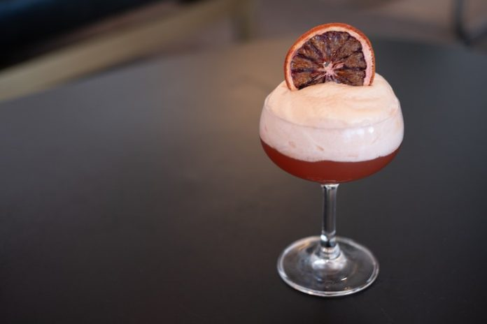 'I'll Say She Does' cocktail from Ever Bar