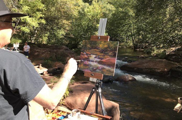 Oak Creek Painting