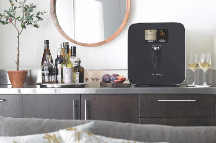 Supply Line: Plum Wine Living Room with Mirror