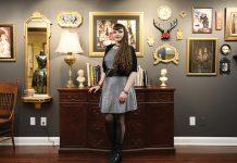 Milwaukee-based fashion designer Stephanie Schultz