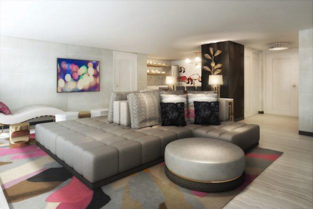 Flamingo Las Vegas Bunk Bed Room