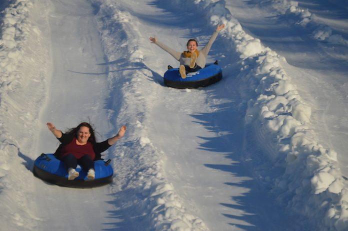 Margaritaville Snow Tubing