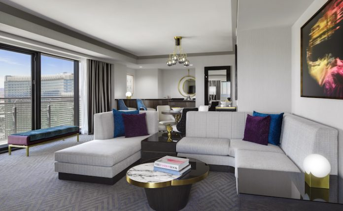 Wraparound Terrace Suite at The Cosmopolitan of Las Vegas