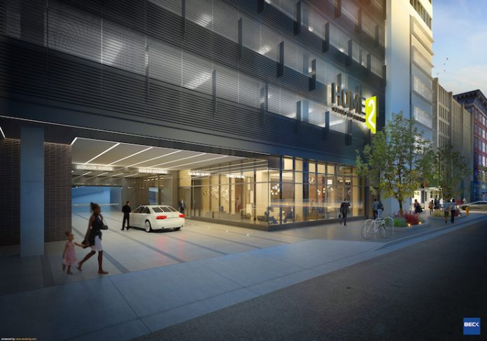 Home2 Suites and Tru by Hilton Denver Downtown Convention Center (Image credit: The Beck Group)