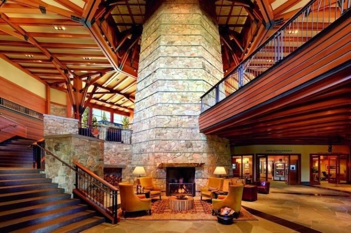 The Ritz-Carlton Lake Tahoe Lobby