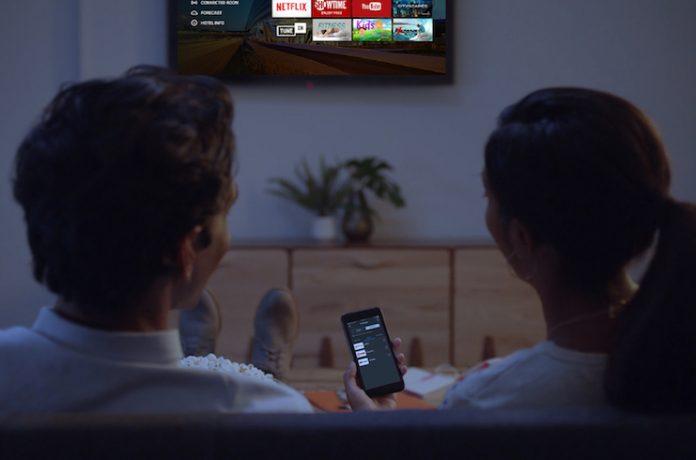 Hilton Connected Room - Netflix partnership