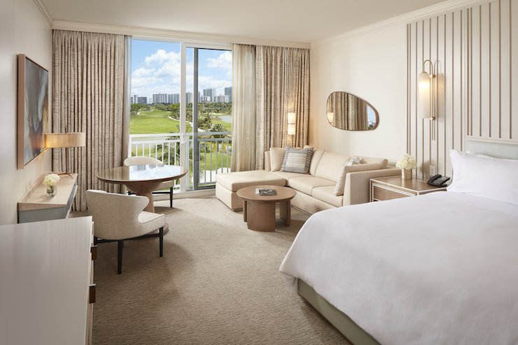 JW Marriott Miami Turnberry Resort & Spa — Kind Bedroom