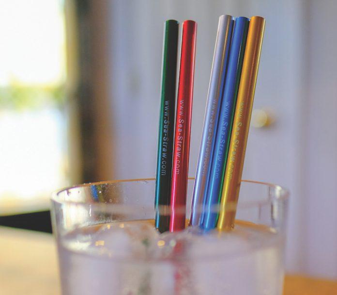 Sea-Straw Aluminum Straws