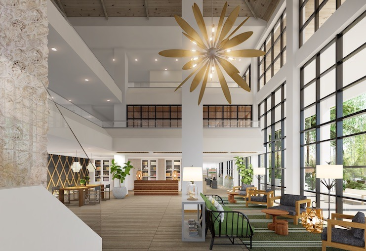 Baker's Cay Resort lobby