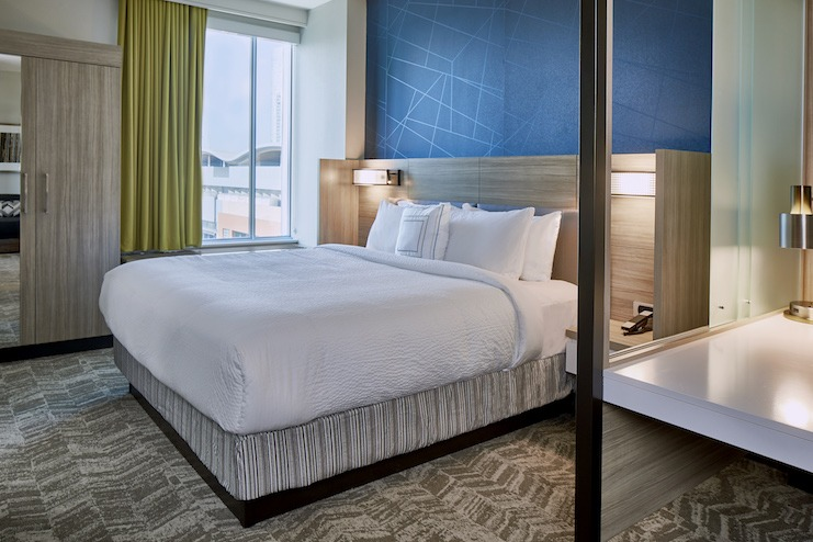 Tri-brand AC Residence Inn and Springhill Suites