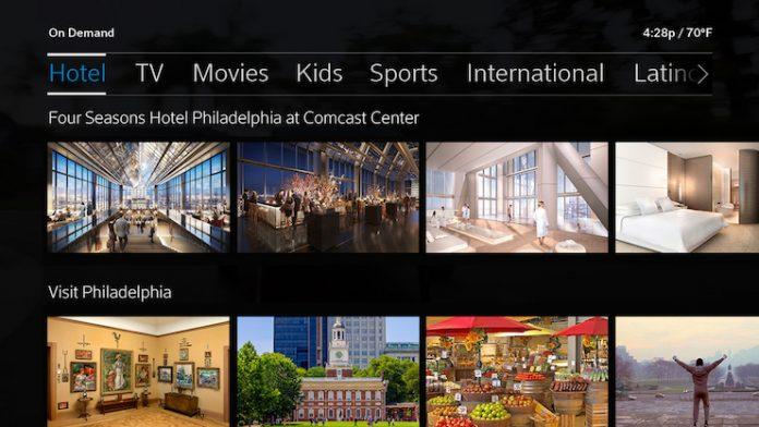comcast makes x1 platform available to hotels restaurants and gyms. Black Bedroom Furniture Sets. Home Design Ideas