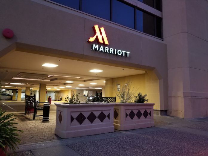 Marriott hotel in downtown Walnut Creek, California