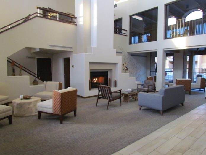 The lobby at Stay Tucson Inn and Suites, which will now be managed by RAR Hospitality