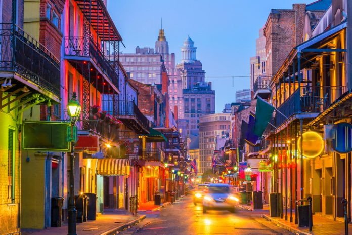 New Orleans recorded the steepest decline in RevPAR during the week of March 22-28.