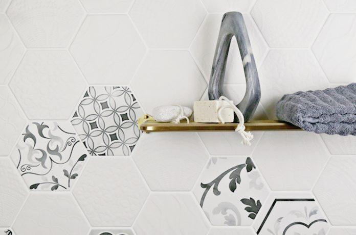 Gramercy hexagonal porcelain collection