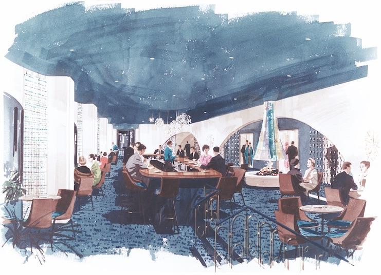Le Chateau Champlain Lounge