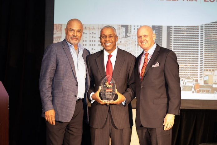 Norman K. Jenkins received the first-ever LODGING Magazine Diversity & Inclusion Award