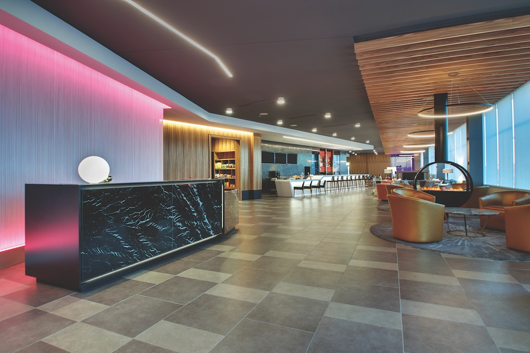 Check out the rose hotel lobby lodging magazine for Hotel lobby decor