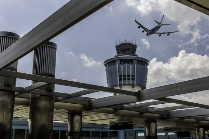 Stock photo of Laguardia Airport in New York - airport