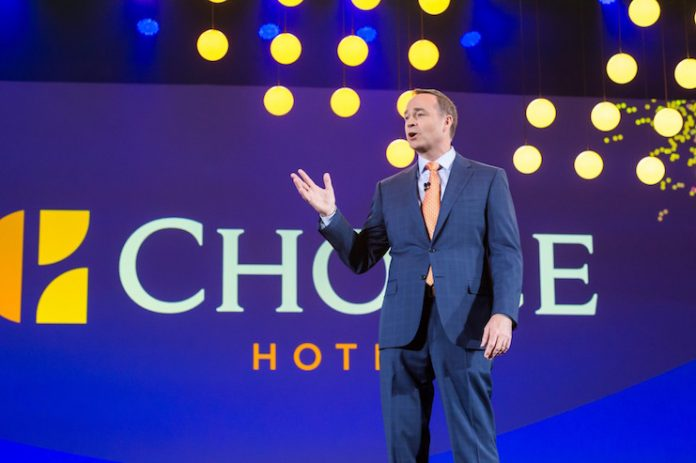 Choice Hotels President and CEO Pat Pacious