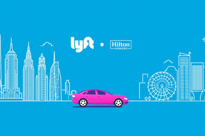 Hilton Honors and Lyft partnership