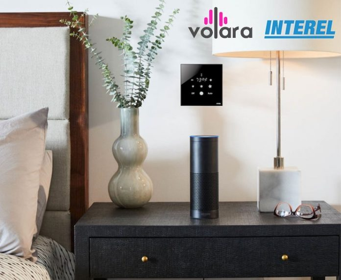Volara and INTEREL integrate voice and in-room controls — hospitality technology