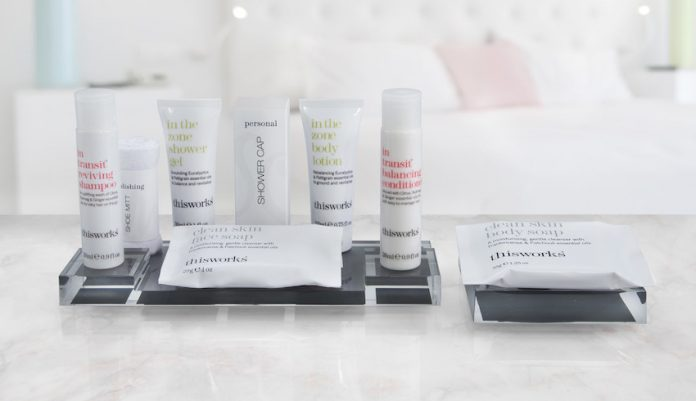 Marriott Hotels introduces This Works amenity product line