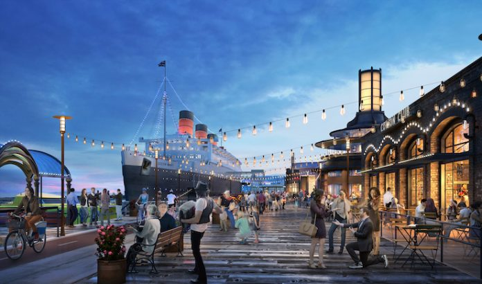 A rendering of Queen Mary Island (Courtesy of Gensler)