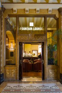The Fountain Lounge at The Roosevelt Waldorf Astoria New Orleans