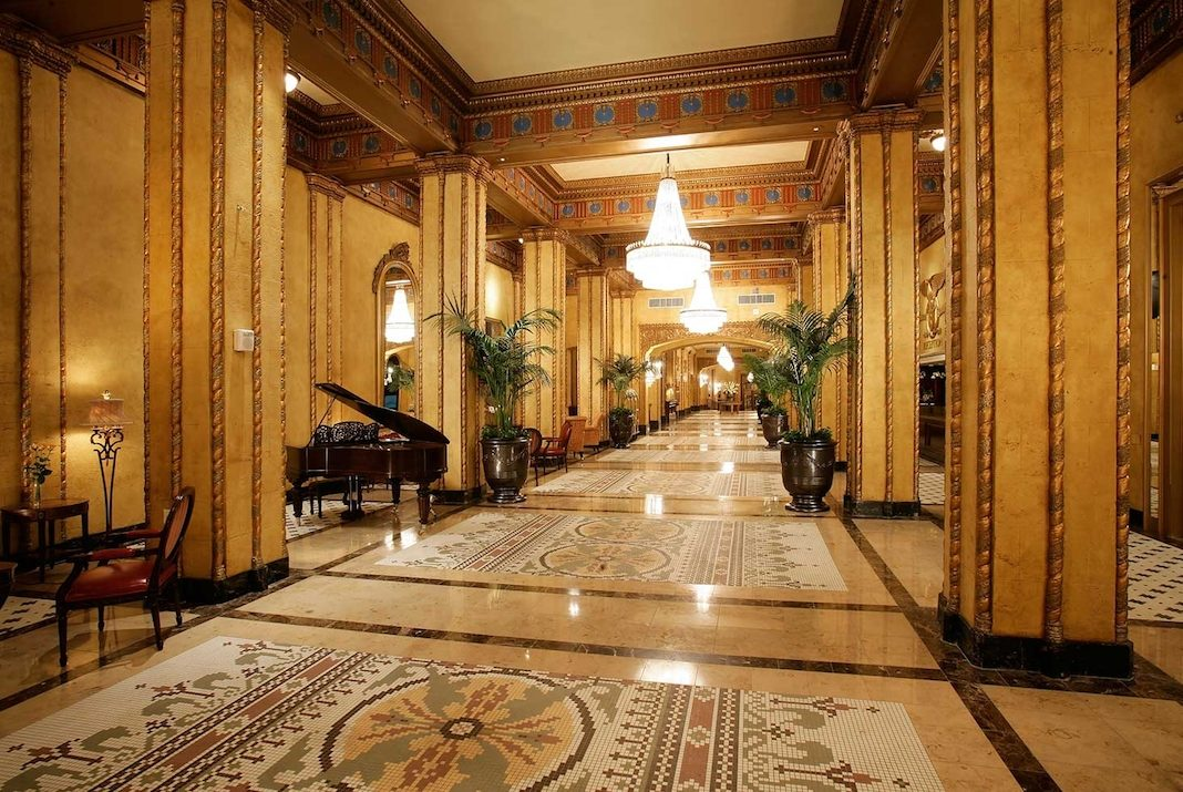 The Roosevelt Waldorf Astoria New Orleans — historic hotels