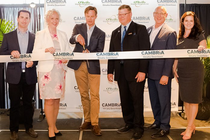 Opening of Cambria Hotel Omaha Downtown