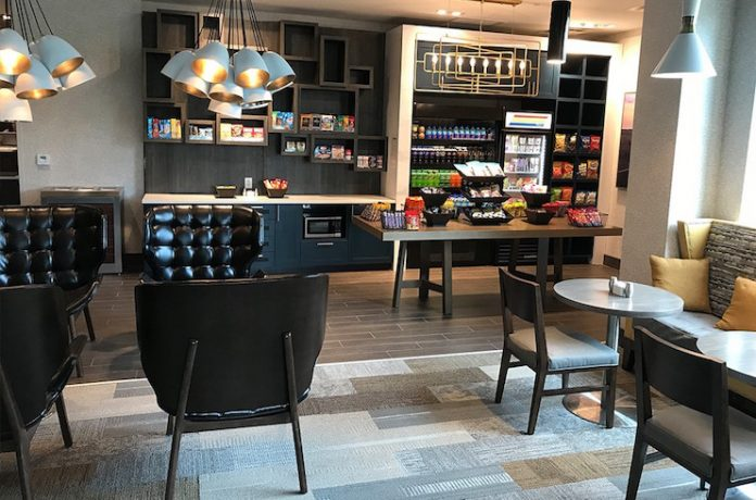 Grab-and-go in hotel lobby stores