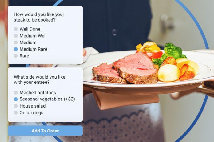 In-room dining revenue