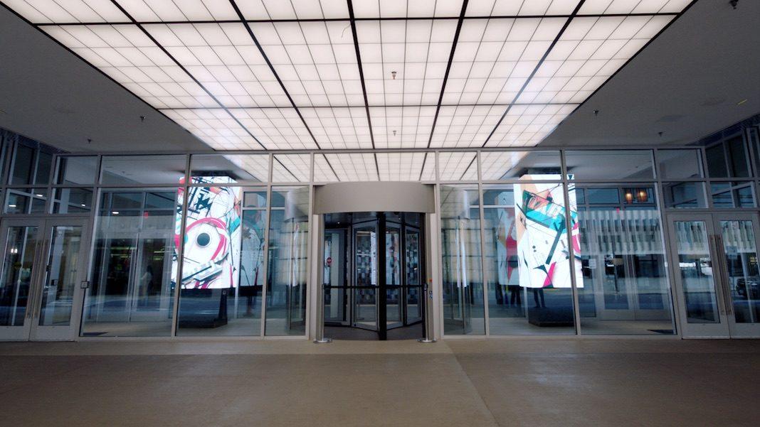 Sheraton Dallas Hotel - Digital Art Installation